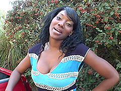 Ebony Naomi Banxxx fucks in recording..