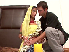 Exotic Indian Babe Gets Her Shaved..