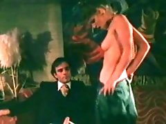 Stunning classic porn with skinny blonde