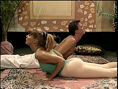 Couple Gets Flexible By Doing Some..