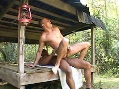 Kinky gay gets his ass fucked from..