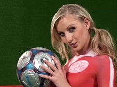 Sport girl with pigtails Hrisanta..