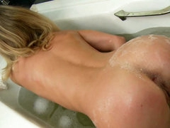 Blonde with amazingly hot ass