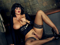 Raven Haired MILF has Erotic Fun in..