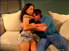 Sabina Star Receives A Creampie In A..