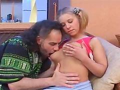 Horny blonde Margo has unforgettable..