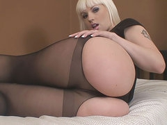 Pantyhose and hot ass