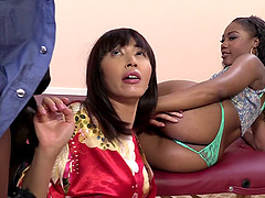 Chanell Heart and Marica Hayes share..