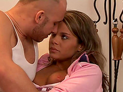 Nena gets her pussy fingered and..