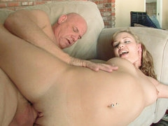 Young, horny and broke slut makes porn..