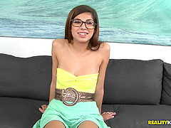 Nerdy Teen Sweetheart Ava Taylor Gets..