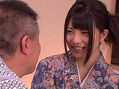 Asian teen sweetheart Ai Uehara in..