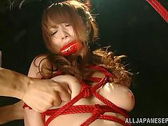 Akiho Yoshizaw Gets Hairy Pussy..