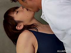 Busty hot ass chick Yuumi Nagasaku..