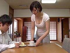horny japanese wife enjoys hardcore..