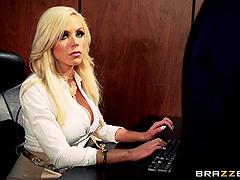 Three blonde bombshells share the..