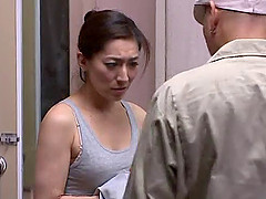 Hot Japanese mom Marina Matsumo gets..
