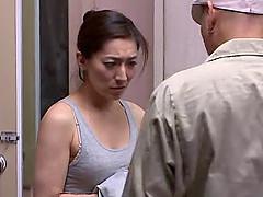 Hot Japanese mom Marina Matsumo gets..