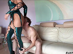 Terrific foursome anal scene with..