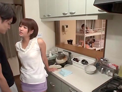 Impassioned Asian Amateur Giving A..
