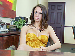 Beautiful hottie Chanel Preston gives..