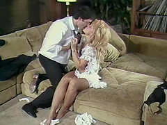 Salacious blonde milf Nina Hartley..