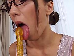 Appetizing solo hot ass girl Shiho..