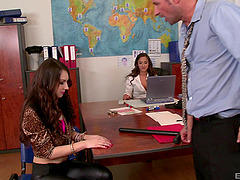 Amirah Adara and Stacy Snake ride a..