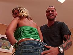 Nikki Sexx receives a hot creampie..