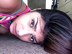Cam fuck with a busty Indian slut