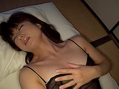 Gorgeous Asian solo model in sexy..