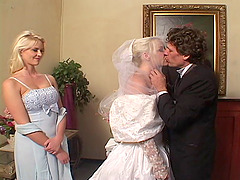 Lewd bride Missy Monroe gets..