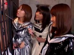 Kinky tokyo schoolgirls arrange..