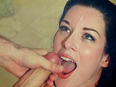 Sizzling brunette Stoya gets anal..