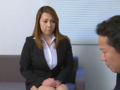 Yumi Kazama face sitting before being..
