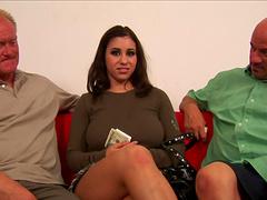 Busty brunette, Whitney Stevens, gets..