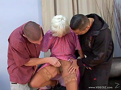 Mature amateur lady Orhidea blows and..