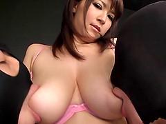 Teen with big nipples awarding massive..