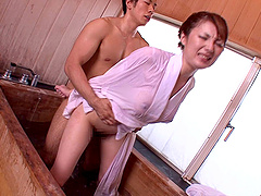 Tsubasa Amami lets a guy fuck her..