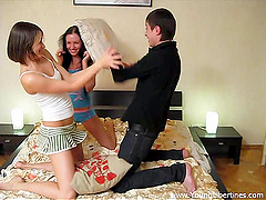 Two Horny Russian Sweethearts Gets..