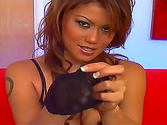 Charmane Star lets a guy lick her..