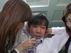 Yuna Shiratori and Ichika Kanhata gets..
