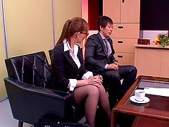 Hardcore sex scene with hot Japanese..