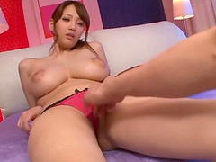Busty hottie Shion Utsunomiya enjoys..