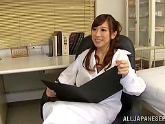 Lovely porn Japanese sweetheart gets..