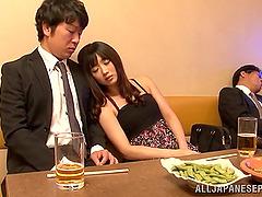 Busty porn hottie Hibiki Ohtsuki..