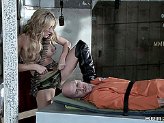 Amy Brooke Rides Johnny Sins In A..