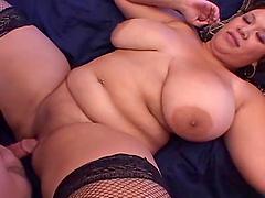 BBW Michelle Bangs gets fucked hard..
