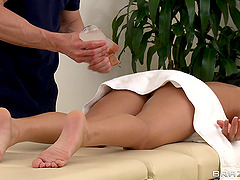 Hot Oiled Fuck Massage Time With Nikki..