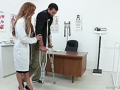 Hot Ass And Naughty Doctor Gets..
